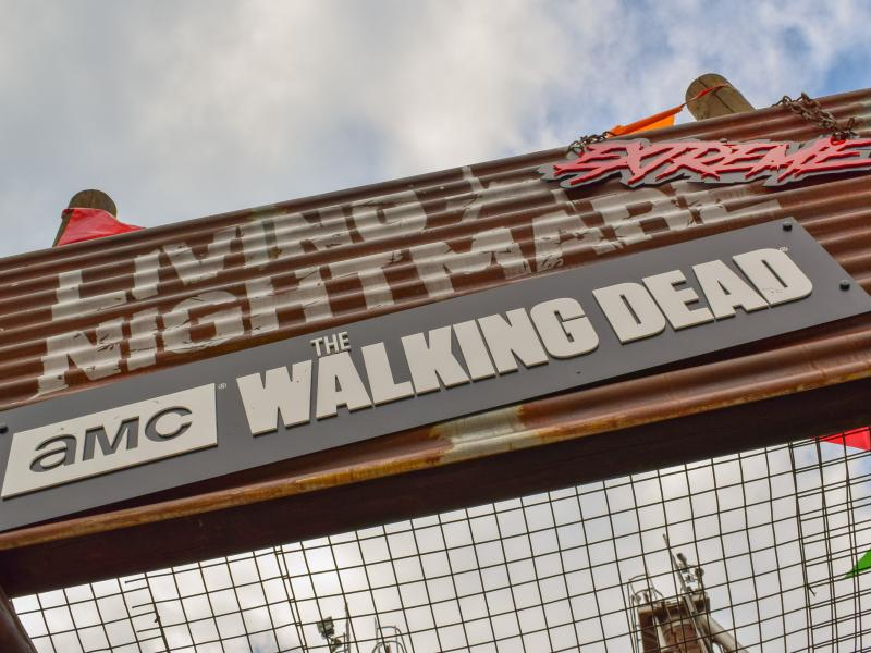 Walking Dead Living Nightmare Extreme Horror Maze